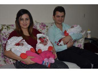 10 Yıl Sonra Üçüz Bebek Sevinci