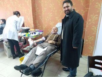 Din Görevlilerinden Kan Bağışı