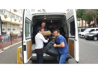 Samsun'da 1 Ton 275 Kilo Kaçak Tütün Ele Geçirildi