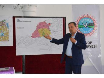 Sinop Belediyesinden Halkı Bilgilendirme Toplantısı