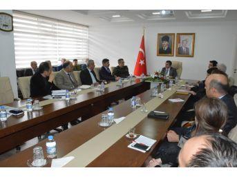 Sinop'ta Bağımlılık İle Mücadele Toplantısı