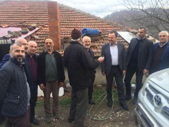 Erbaa Kaymakamı Karaca Köyleri Ziyaret Ediyor