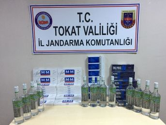 Jandarmadan Sigara Ve Alkol Kaçakçılarına Operasyon