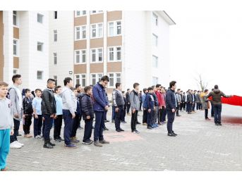 (özel) Şehidin Adının Verildiği Okulun Öğrencilerinden Afrin'e Destek