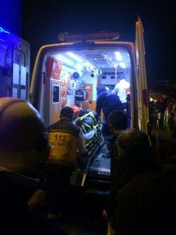 Köprüden Atlayan Genç Hastaneye Kaldırıldı