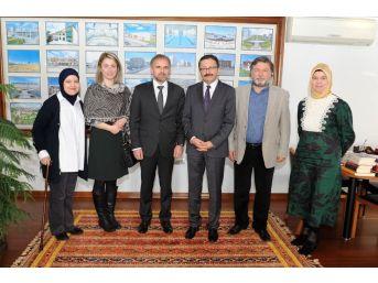 Bosna Büyükelçisi'nden Altındağ Belediye Başkanı Tiryaki'ye Ziyaret