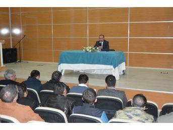 Başkan Köksoy, Sürekli İşçi Kadrosuna Geçecek Taşeron İşçilerle Toplantı Yaptı