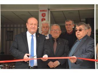 Başkan Özakcan, Rumeli Çorbacısı'nın Açılışını Gerçekleştirdi
