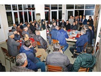 Büyükşehir Sahada Nazilli'yi Dinledi