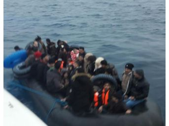 Kuşadası Körfezi'nde 103 Kaçak Göçmen Yakalandı