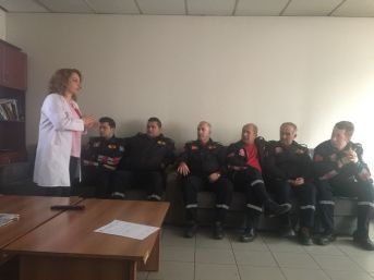 İtfaiyecilere Organ Nakli Eğitimi