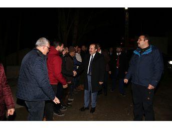 Vali Ali Hamza Pehlivan, Koçbayır Köyü'nde Sılaya Gelen Gurbetçilerle Bir Araya Geldi
