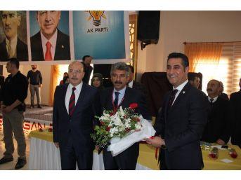 Ak Parti Bismil İlçe Başkanlığına Mehmet Kızılkaya Seçildi