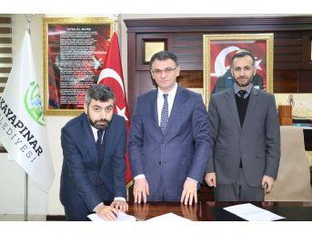 Kayapınar Belediyesi İle Müftülük Protokol İmzaladı