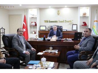 Müsteşar Yardımcısı Güldal'dan Tarım İl Müdürlüğü'ne Ziyaret