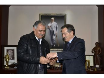 Döğerliler'den Başkan Ataç'a Ziyaret