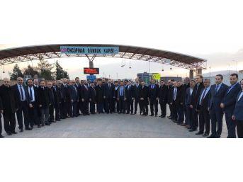 Müsiad Zeytin Dalı Harekatı'na Destek İçin Kilis'te Toplandı