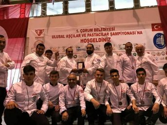 Isapder Çorum'dan 4 Madalya İle Döndü
