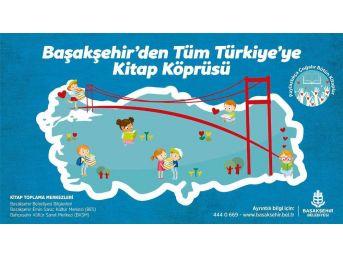 Başakşehir'e Tüm Türkiye'den Kitap Köprüsü