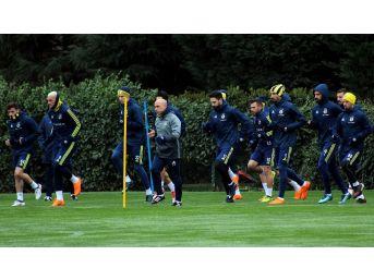 Fenerbahçe, Beşiktaş Derbisi İçin Hazırlıklarını Sürdürdü