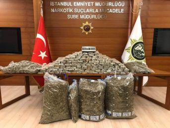 İstanbul'da 200 Kilo Esrar Ele Geçirildi