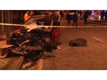 Maltepe'de Zincirleme Trafik Kazası: 1 Ölü 1 Yaralı