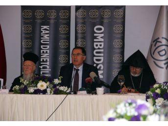 Ombudsman Şeref Malkoç Dini Grupların Liderleriyle Bir Araya Geldi