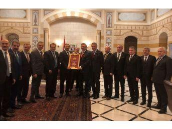 Kmtso Başkanı Serdar Zabun Lübnan'da