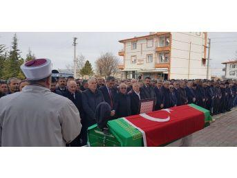 Karaman'ın Akçaşehir Belediye Başkanı Son Yolculuğuna Uğurlandı