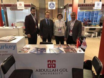 Rektör Sabuncuoğlu Eurıe-2018 Yükseköğretim Zirvesine Katıldı