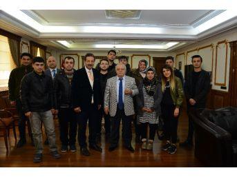 Devletin Çocukları Vali Necati Şentürk'ü Ziyaret Etti
