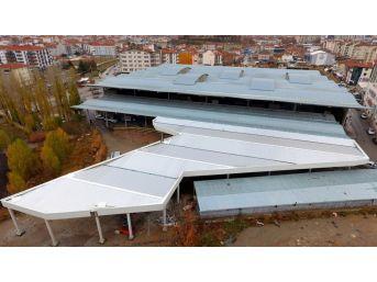 Kırşehir'de Köy Pazarı Yapımı Tamamlandı