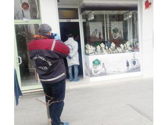 Konya'da Silahlı Kuyumcu Soygunu