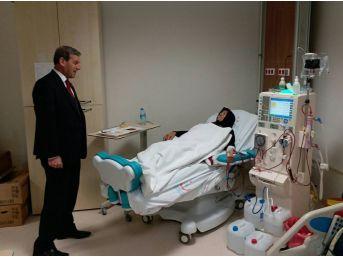 Protokolün Yeni Hastane Ziyareti