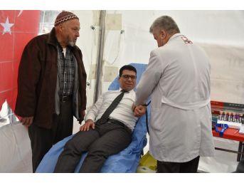 Manisalılar Kanlarıyla Afrin'de