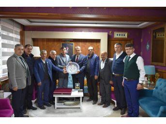 Yunusemreli Muhtarlardan Başkan Çerçi'ye Teşekkür