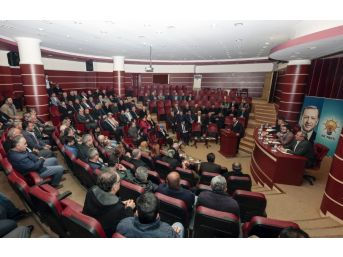 Ak Parti Yerel Yönetimler İstişare Ve Değerlendirme Toplantısı Yapıldı