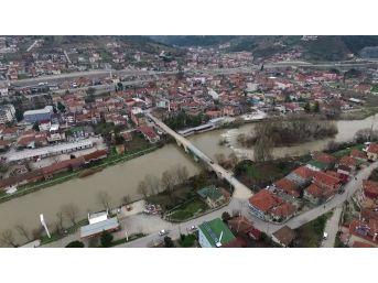 (özel) - 523 Yıllık Tarihi 2. Beyazıt Köprüsü Havadan Görüntülendi
