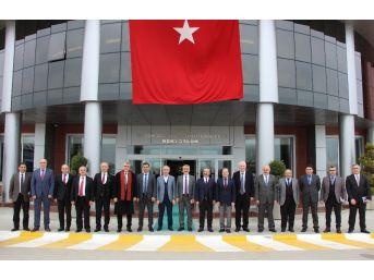 Rektörler Omü'ye Hayran Kaldı