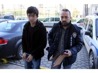 Samsun'da Bir Kişiyi Bıçakla Ağır Yaralayan Genç Yakalandı