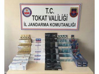 Çay Ve Şeker Poşetlerinin İçine Gizlenmiş Kaçak Sigara Ele Geçirildi