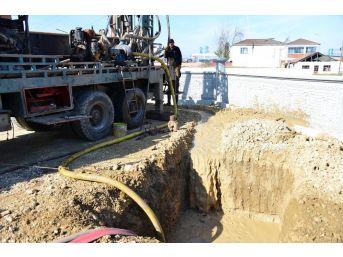 Erbaa'da İçme Suyu Şehir Şebekesi Güçlendiriliyor