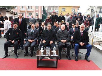 Uşak'ta 15 Temmuz Şehidi Adına Z Kütüphane Açıldı