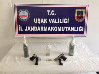 Uşak'ta Jandarmadan Uyuşturucu Operasyonu