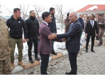 Başkale'de Zeytin Dalı Harekâtı Şehitleri İçin Mevlid Okutuldu