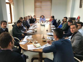 Kaymakam Özcan Başkanlığında 'değerler Eğitimi' Konulu Toplantı Yapıldı