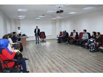 Adıyaman Üniversitesinde Tübitak Proje Hazırlama Eğitimi
