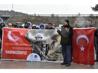Pedallar Mehmetçiğe Destek İçin Çevrildi