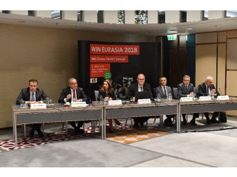 Dünya Sanayi Devleri Wın Eurasia İçin İstanbul'a Gelecek