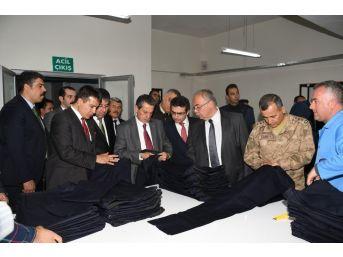 Adıyaman Açık Ceza İnfaz Kurumunda Tekstil Atölyesi Açıldı